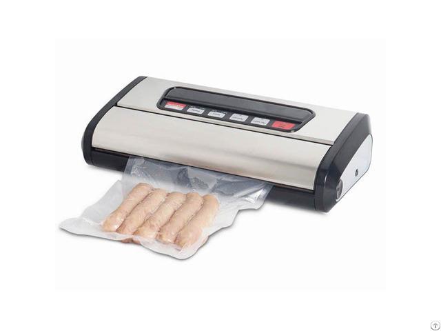 Heat Sealing Food Packaging Machine Vs200s Black