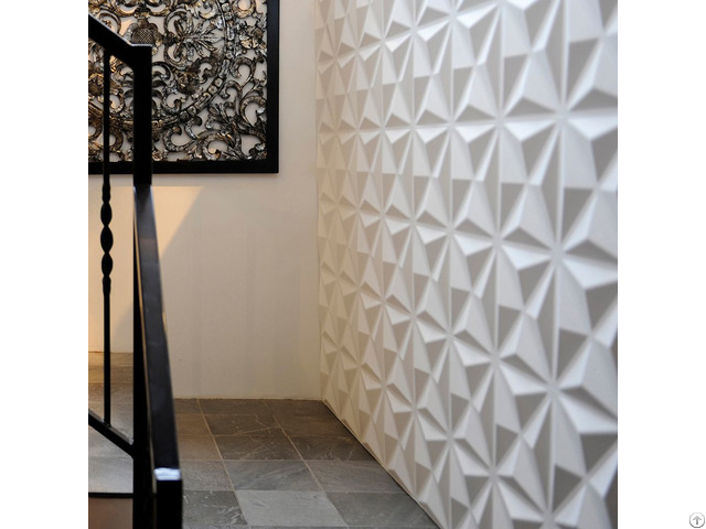 3d Wall Coverings Interior Decoration Boards Embossed Walltile