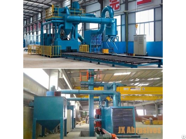 Roller Conveyor Shot Blasting Equipment