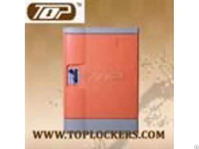 Six Tier Club Lockers Abs Plastic Orange Color