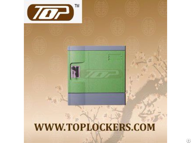 Six Tier Beach Lockers Abs Plastic Green Color