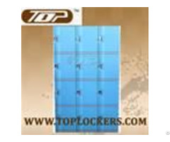 Plastic Mini Lockers Blue Color