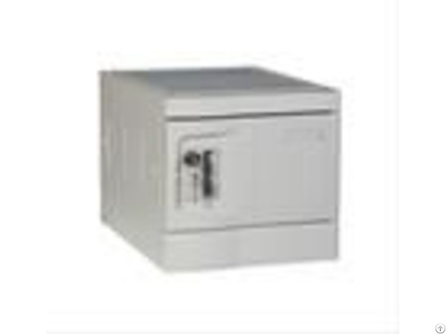 Mini Plastic Lockers Gray Color