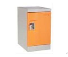 Orange Plastic Mini Lockers