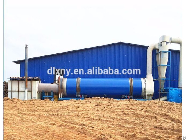 Coir Fiber Drying Process Production Line