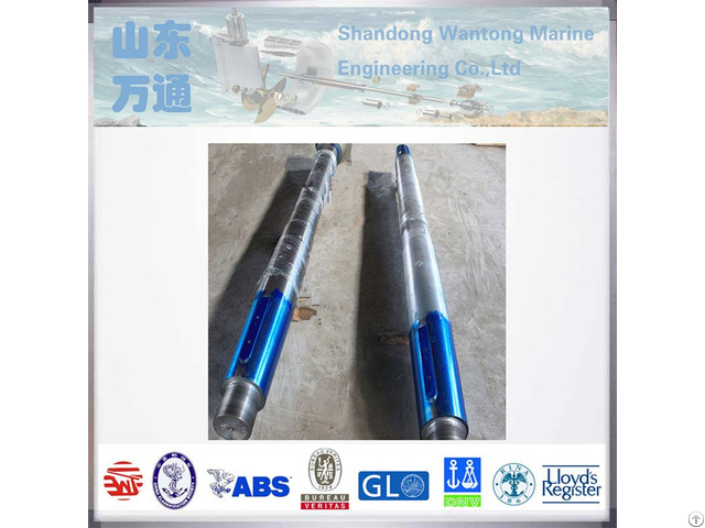 Naval Quality Casting Stern Long Tail Shaft