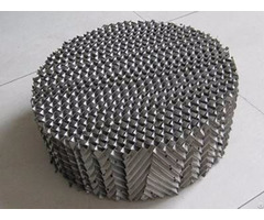 Metal Perforated Plate Corrugated Packing With Long Service Life