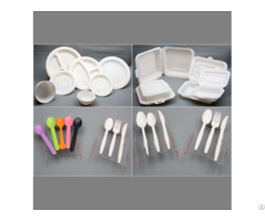 High Quality Biodegradable Disposable Cornstarch Tableware