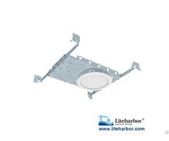 "6"" Led Flat Panel Light Fixture Ultra Slim Round Shape"