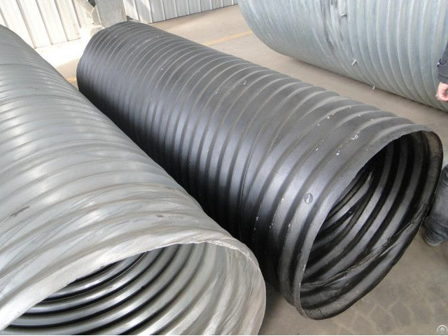 Hel Cor Galvanized Corrugated Steel Pipe