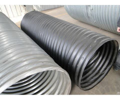 Hel Cor Galvanized Corrugated Steel Pipe