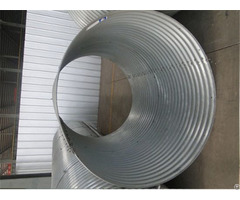 Bolted Nestable Metal Culvert Pipe