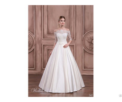 Spring New Fashion Best Design Princess A Line Wedding Bridal Dress