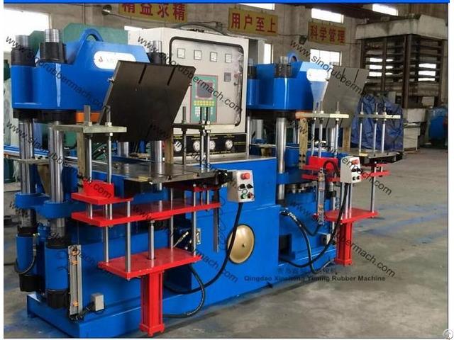 Rubber Cap Compression Molding Press Machine