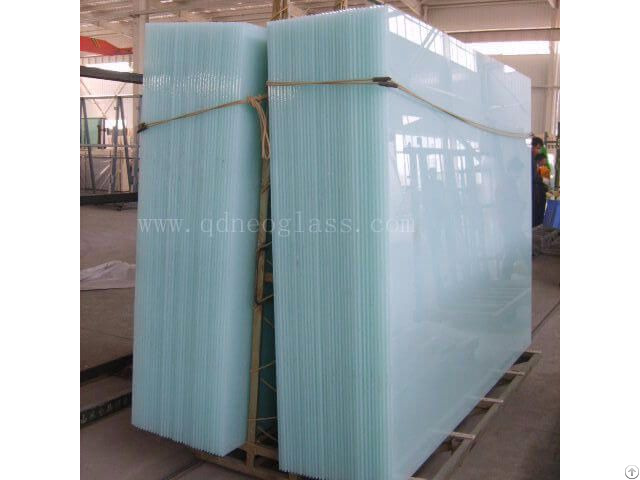 Laminated Tempered Igu Dgu Safety Mirror Glass Back Painted Polished