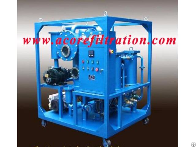 6000l Hr Transformer Oil Filtration Machine