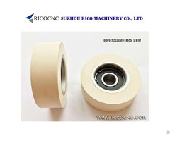 Rubber Pressure Roller Wheels With Bearing