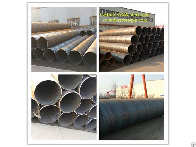 Spiral Seam Welded Steel Pipe