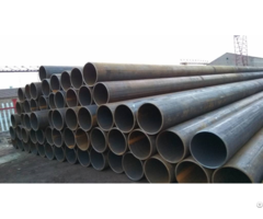 Cold Formed Astm A53 Grade B Lsaw Welded Round Steel Pipe Tube For Building Material