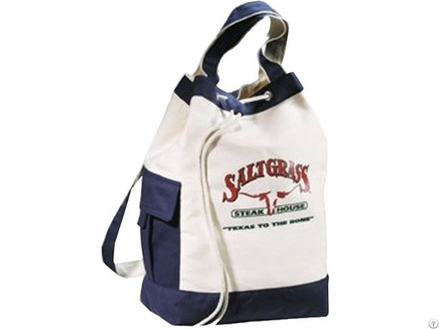 Canvas Sports And Leisure Bag With Drawstring My62021