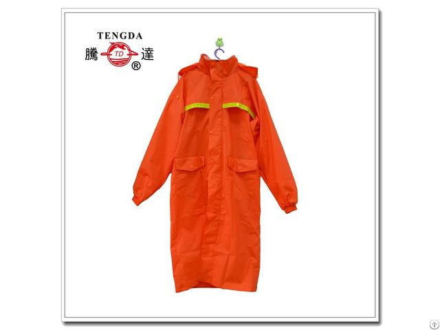 One Piece Pvc Worker Raincoat