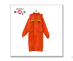 One Piece Pvc Worker Raincoat
