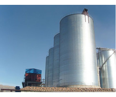 Calcined Petroleum Coke Silo