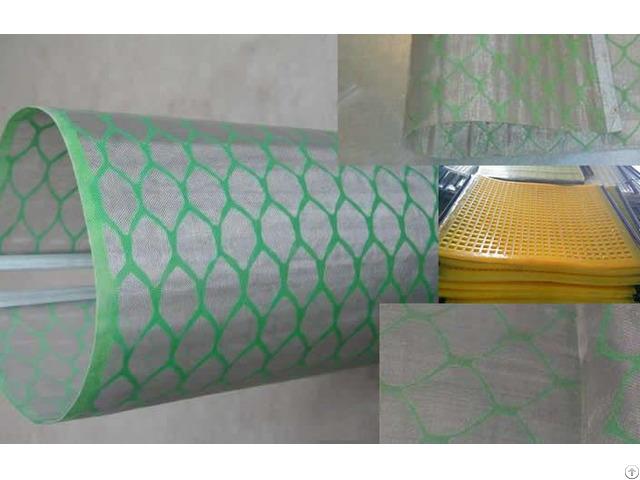 Single Or Multi Layer Mesh Hook Strip Flat Screen