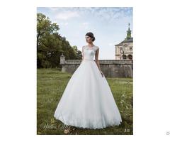 Hot Selling High Grade Fashion Lace Fabric White Boob Tube Top Wedding Dress