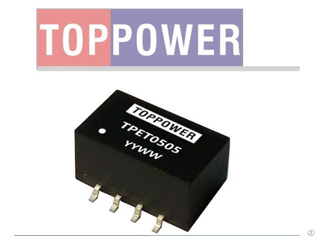 3kvdc Isolated Single Output Smd Dc Converters