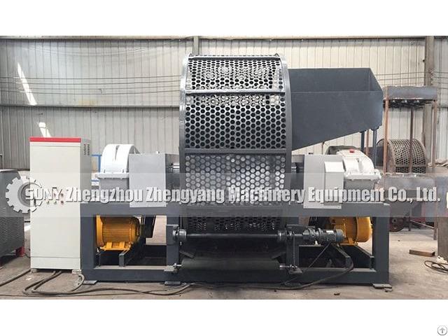 Tyre Shredding Machine Zhengyang Machinery