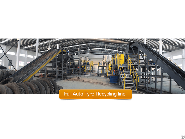 Waste Tire Grinding Plant Zhengyang Machinery