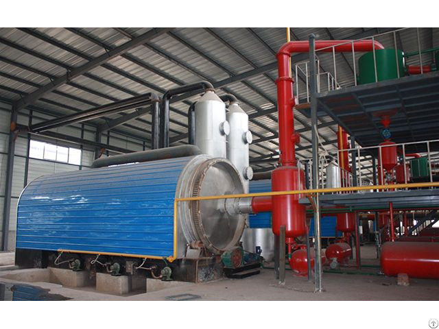 Plastic Pyrolysis Plant Zhengyang Machinery