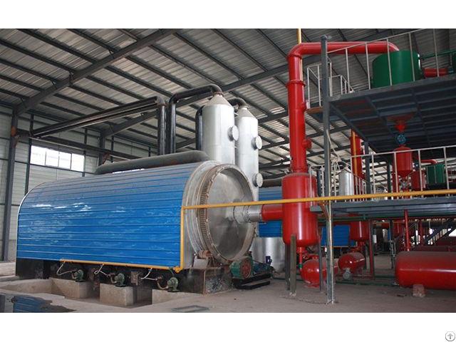 Plastic Pyrolysis Plant Zhengyang Machinery