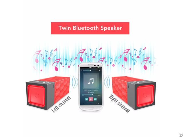 Stereo True Wireless Bluetooth Speaker