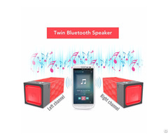 Stereo True Wireless Bluetooth Speaker