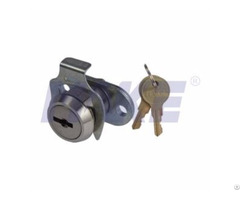 Zinc Alloy Flat Key Cam Lock Clip Instead Of Nut Nickel Plated