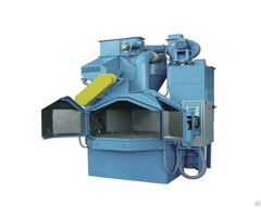 Rotary Table Shot Blasting Machine For Metal Polishing