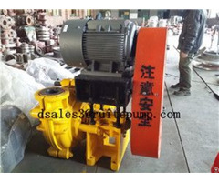 High Pressure Hydraulic Slurry Pump