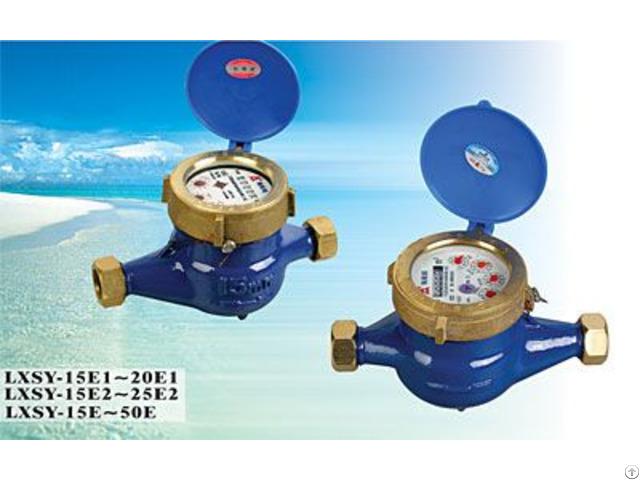 Chinese Famous Brand Amico Rotary Vane Wheel Liquid Sealed Water Meter