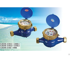 Chinese Famous Brand Amico Rotary Vane Wheel Liquid Sealed Water Meter