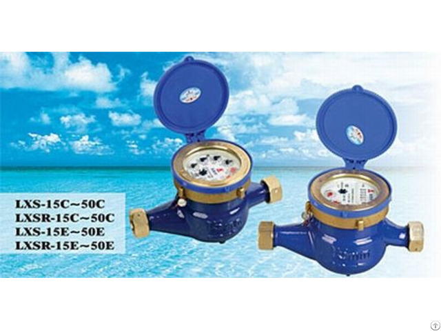 Chinese Famous Brand Amico Rotary Vane Pointer Water Meter