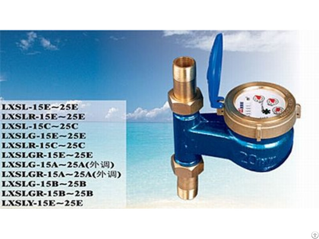 Chinese Famous Brand Amico Rotary Vane Water Meter