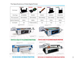 High Speed Uv Hybrid Printer With Kyocera Kj4a Printhead