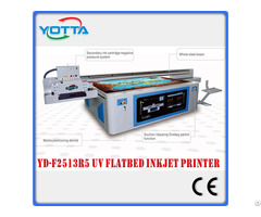 Uv Led Printer Embossing 3d Effect Flatbed Type Printing Machine