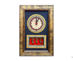 Handcrafted Tribal Wall Clock