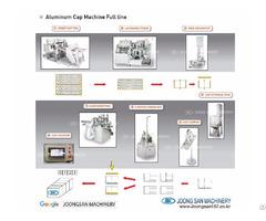 Fully Automatic Aluminum Ropp Cap Closure Machine Joong San