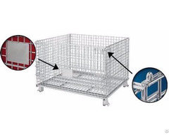 Storage Wire Cage For Warehouse And Logistic