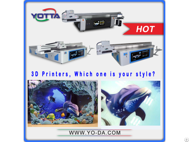 3d Embossing Ceramic Uv Flatbed Printer With High Speed Printing Effect