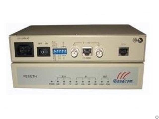 Single Port Framed E1 To Ethernet Converter